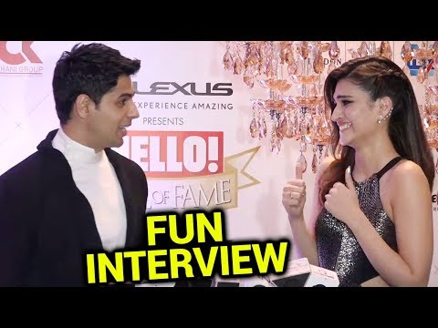 Sidharth Malhotra Kriti Sanon FUN INTERVIEW at Red