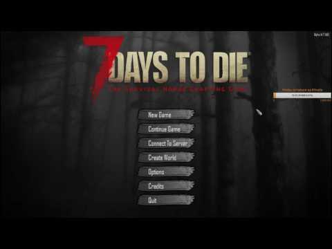 Dozkoz и 7 Days to Die. 1 стрим.