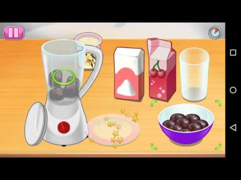 How To Play Fruit Smoothie Sara's Cooking Class, Latest Cooking Games