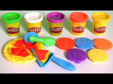 Play-Doh Lunchtime Creations Playset Sweet Shoppe Pizza Sandwiches Cookies by Funtoys (видео)