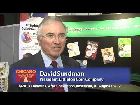 Numismatic Personality: David Sundman, August 14, 2013 pt1