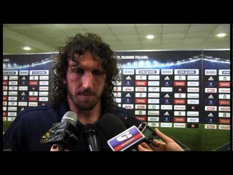 6 Nazioni 2015: Mauro Bergamasco al termine di Italia-Galles