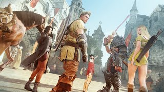 Геймплей Black Desert на Xbox One с PAX West
