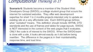 Developing Student Computational Thinking (MPICT)
