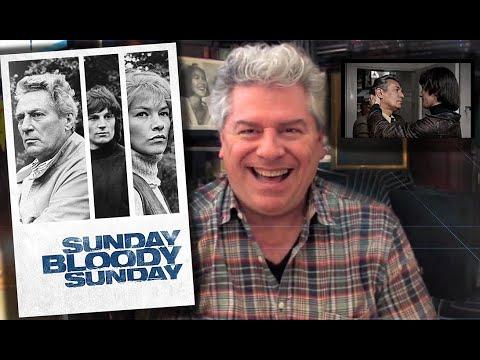 CLASSIC MOVIE REVIEW: Peter Finch & Glenda Jackson SUNDAY, BLOODY SUNDAY from STEVE HAYES