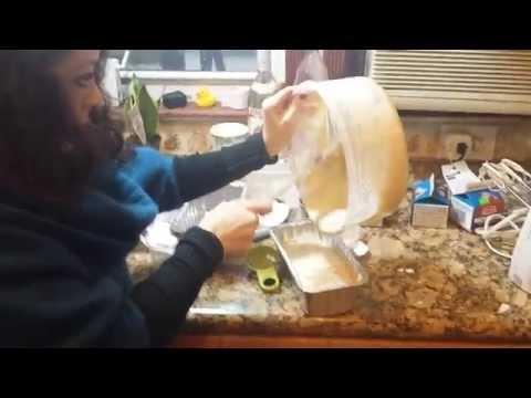 מתכון וידיאו 9 דקות לעוגת גלידה פרווה אגוזים ופרלין