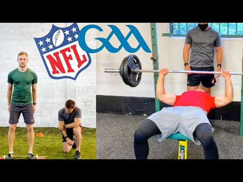 GAA Inter County Footballers Try the NFL Combine | Without Training