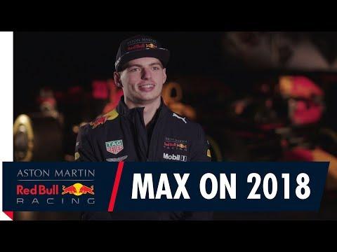 Max Verstappen Previews the 2018 F1 Season