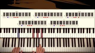 How to play: Glory - John Legend & Common (Selma soundtrack). Original Piano Couture tutorial.