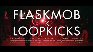 in PART 1 we start it off!FlaskMob is a group of like minded creatives that get together once a month and take photos of their city. Started in San Francisco, FlaskMob started a chapter in Los Angeles less than 1 year later.Team Loopkicks is a tricking collective from San Jose in the bay. Tricking is a self enriching, self expression merging martial arts, acrobatics, dance elements, and pure momentum. Established in 1999, loopkicks has brought together trickers all over the world to the weeklong LOOPKICKS CAMP. http://www.flaskmob.com/http://www.teamloopkicks.com/http://www.frctyl.com/