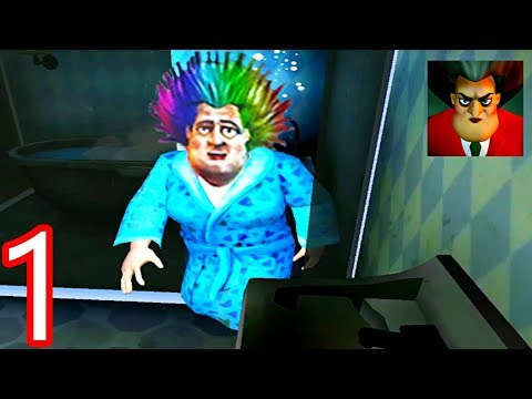 Scary Teacher 3D - | NEW UPDATE | - Bad Hair Day - Gameplay Walkthrough Part 1 ( iOS - Android )