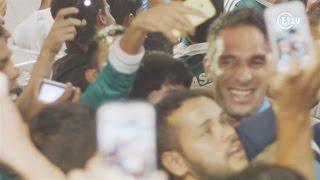 A delegação do Palmeiras desembarcou na noite desta terça-feira em Vitória da Conquista, onde a equipe enfrentará o clube local nesta quarta pela Copa do ...