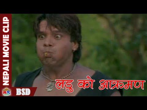 (लडु को आक्रमण || Nepali Movie Clip || Takdir - Duration: 6 minutes, 41 seconds.)