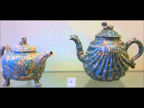 Limoges (France) porcelain & ceramics Museum (Lounge Music)