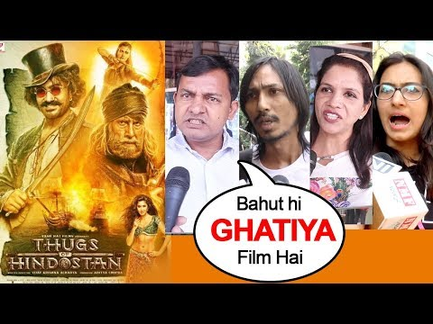 Thugs Of Hindostan Declared Most FLOP & WORST Movie Ever-Aamir Khan,Amitabh Bachchan,Katrina,Fatima