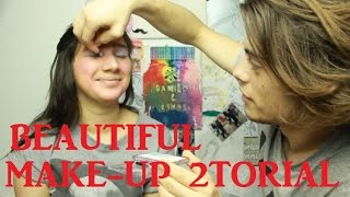 KIMMI TURNS TO PROSTITUTION D: | Damien does Kimmi's Make-Up