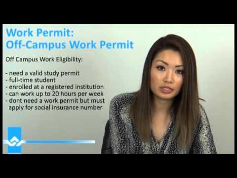 Off Campus Work Permit Video