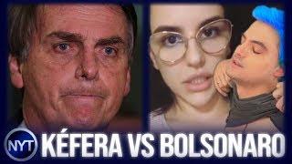 Kéfera continua ATACANDO Jair Bolsonaro e espalha várias Fake News para tentar MANIPULAR seguidores