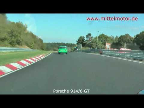 Eifelrennen 2009 mit Porsche 914/6 GT des Teams Mittelmotor