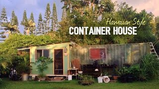 SHIPPING CONTAINER HOUSE TOUR - Minimalist Living in the Tropics