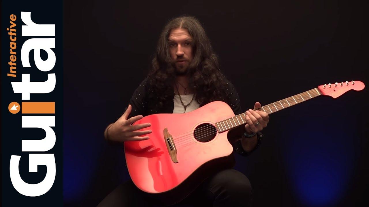 Fender California Series Redondo Classic Acoustic Guitar in Hot Rod Red Metallic   Review