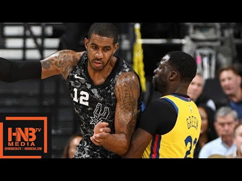 Golden State Warriors vs San Antonio Spurs Full Game Highlights / March 8 / 2017-18 NBA Season (видео)