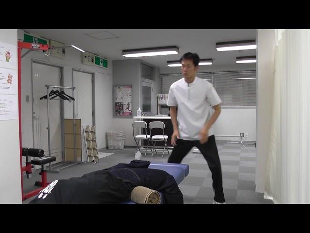 【施術動画】腰椎すべり症 骨盤が前傾している場合の腰痛には