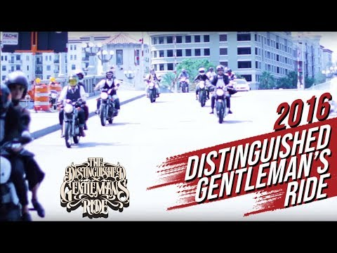 2016 Distinguished Gentleman's Ride