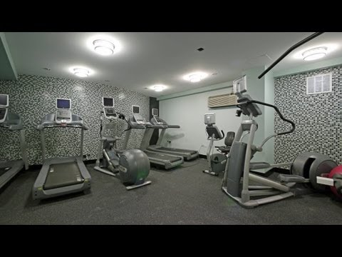 A new fitness center at a Lake Shore Drive high-rise