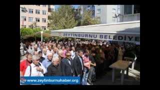CHP Zeytinburnu Belediye Başkan Aday Adayı Mustafa Fazlıoğlu Eniştesi Saadettin Dindar'ı Kaybetti