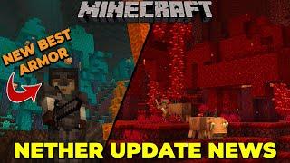 Minecraft 1.16 FIRST NEW NETHER UPDATE NEWS & SNAPSHOT, new biomes, netherite, blocks