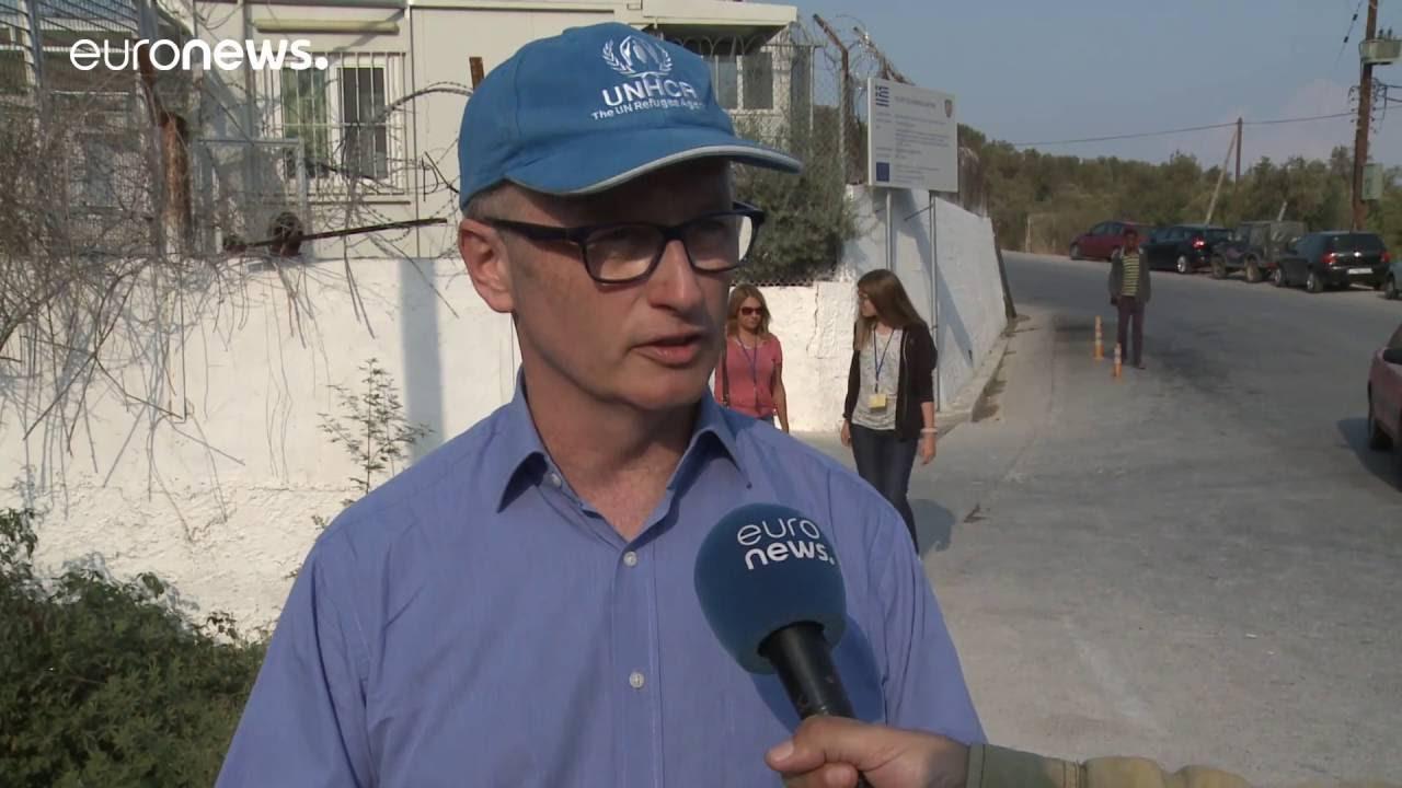 Ο εκπρόσωπος της UNHCR στο euronews: Η Ευρώπη περνά κρίση αλληλεγγύης