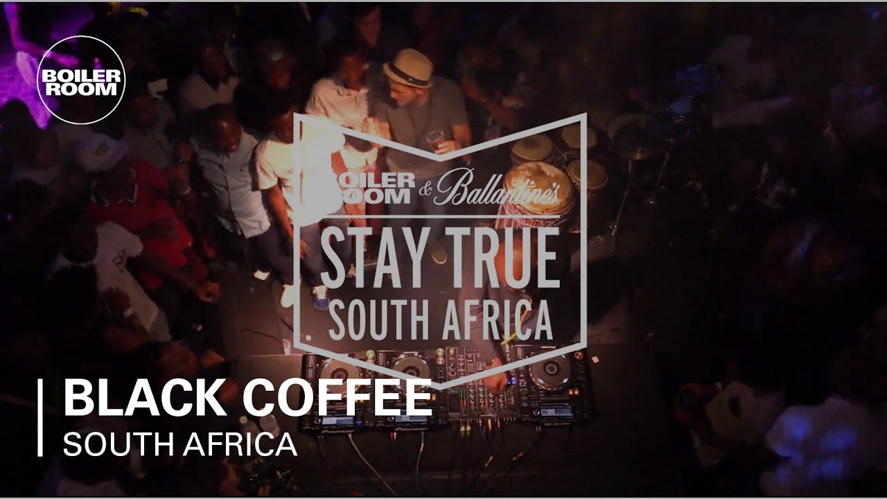 Black Coffee - Live @ Boiler Room & Ballantine's Stay True South Africa DJ Set