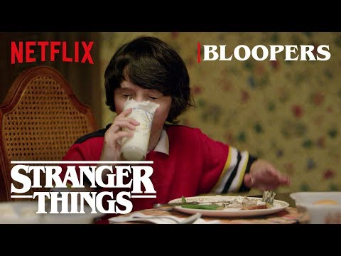 Stranger Things Season 1 Bloopers | Netflix