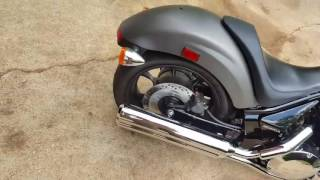 9. 2016 Honda Fury before and after STG ground pounders