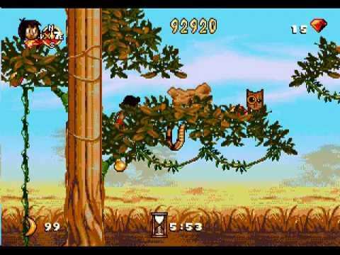 Le Livre de la Jungle Game Boy