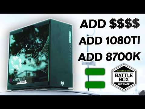 The NVIDIA BATTLEBOX Ultimate - The $3799 AUD MSY MSPEC Gaming PC That Dominates.