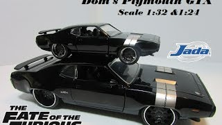 Nonton Dom's Plymouth GTX Diecast 1:24 & 1:32 Jada The Fate Of The Furious Film Subtitle Indonesia Streaming Movie Download