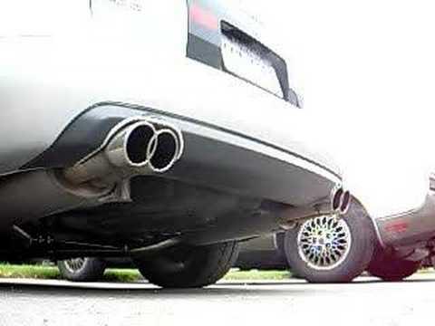 Audi S6 Avant Cargraphic exhaust sound (4.2 C5 A6)