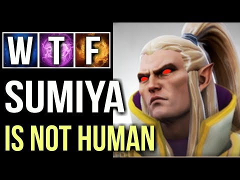 SUMIYA BEST INVOKER EVER!😮 Most Brutal Ice Wall Combo Epic Gameplay Comeback WTF Dota 2