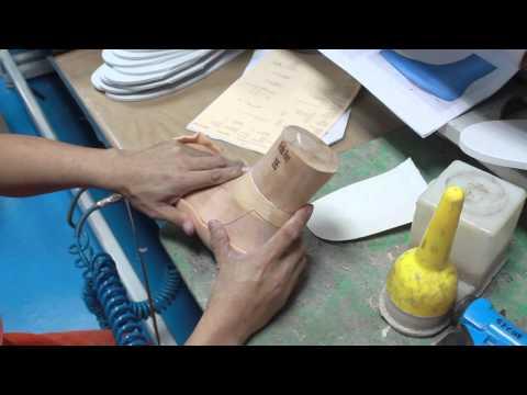 Custom Orthopedic Footwear, the manufacturing