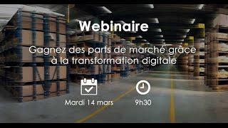 Embedded thumbnail for Webinaire | Comment gagner des parts de marché grâce à la transformation digitale ?