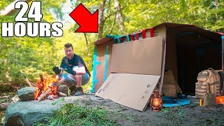 Box fort 24 hour challenge in the woods! In this video we build the biggest box fort and survive in it for 24 hours. This funny box fort challenge vlog was hard! We had to build a box fort and survive 24 hours with some water and food. We had to use toys, nerf guns & more to survive the 24 HOUR BOX FORT IN THE WOODS!BOX FORT SUBMARINE CHALLENGEhttps://youtu.be/FEeh1oA-pF8WORLDS BIGGEST BOX FORT NERF WAR! 1v1 NERF BATTLE!https://youtu.be/pxfEL5qpuKwBOX FORT ZOO CHALLENGE!https://youtu.be/ArSG0Wnj828BOX FORT Vs VOLCANO CHALLENGE!https://youtu.be/mOyGEkgYNS8BOX FORT BOAT VS TSUNAMI CHALLENGE!https://youtu.be/yVUCcLQpFzYFLYING BOX FORT CHALLENGE! 📦 https://youtu.be/uylorgdebp4BOX FORT BOAT SURVIVAL CHALLENGE! https://youtu.be/k1kGBjlyYzEGet Awesome Papa Jake Merchandise! https://shop.bbtv.com/collections/team-epiphanySubscribe To My Gaming Channel - Papa Jake Games! https://www.youtube.com/watch?v=a01luoUVJ5cSubscribe To My Second Channel - Papa Jake Toyshttps://www.youtube.com/channel/UCmeNL9Nc2H1Mezu3gcb1hlAFOLLOW ME!!! LET'S BE FRIENDS:● Twitter - https://goo.gl/s1laJW● Facebook - https://goo.gl/sCnm8B● Instagram - https://goo.gl/x6H5Er● Snapchat - PapaJakeTE● Logan The Editor Instagram - https://goo.gl/842JeDCheck Out The Awesome Glowing 1000 degree KNIFE Videos:.com/watch?v=KiWNeqG_fp4MAIL ME STUFF :)119-660 Eglinton AVE.EAST SUITE 201 TORONTO, ON. M4G 2K2CanadaWARNING: This video is only for entertainment purposes. Do not attempt to recreate any of the acts in this video, as they may be dangerous if not done correctly, and could result in serious injury. If you rely on the information portrayed in this video, you assume the responsibility for the results. Have fun, but always think ahead, and remember that every project you try is at YOUR OWN RISK.