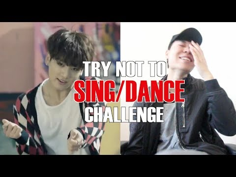 K-POP TRY NOT TO SING/ DANCE CHALLENGE! (видео)