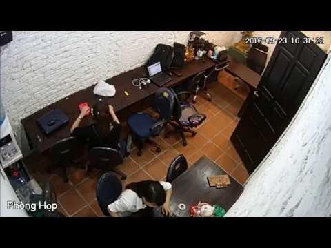 Video Quan Sát Chất Lượng hình ảnh camera tại Văn Phòng