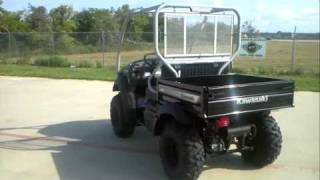 10. Review: 2012 Kawasaki Mule 610XC 4WD Super Black Utility Vehicle