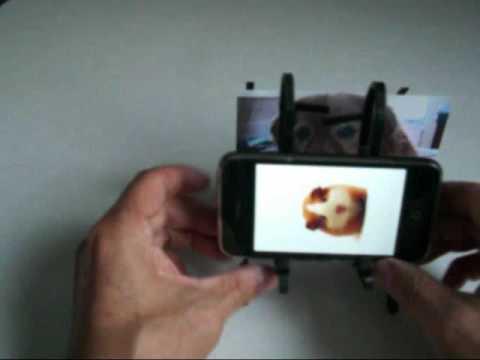 iPhone 充電スタンド改