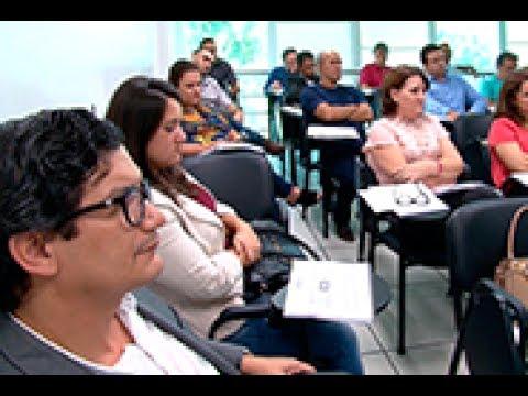 TCE Notícias - Gestores de 12 cidades são capacitados sobre elaboração...