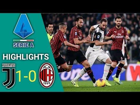 Juventus vs AC Milan 1-0 - All Goals & Extended Highlights RÉSUMÉ & GOLES HD (FIFA 19)