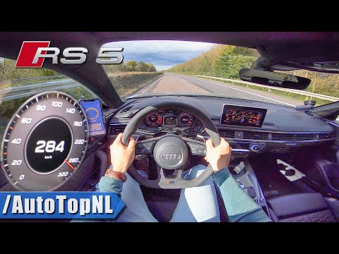 AUDI RS5 SPORTBACK | 284km/h TOP SPEED on AUTOBAHN (NO SPEED LIMIT) by AutoTopNL